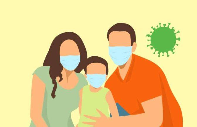 家族の感染予防